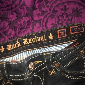 Rock Revival Jeans - WHO DAT!  Rock Revival Sark Wash Gwen Boot Jeans